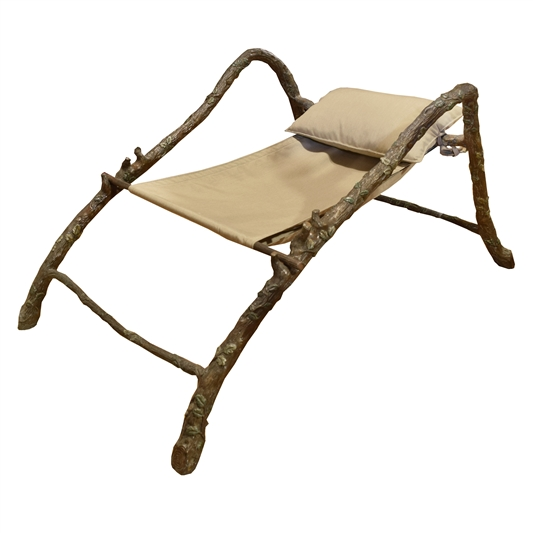 French Bronze Garden Chair