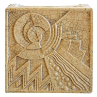 American Art Deco Terra Cotta Block