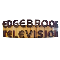American Edgebrook Television Sign