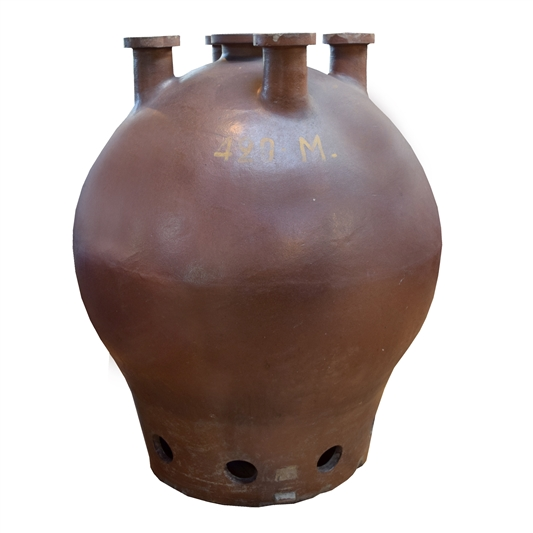 German Industrial Ceramic Vessel