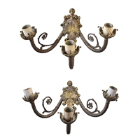 Pair of Argentine Wall Sconces