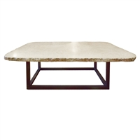 Argentine Marble-Top Low Table