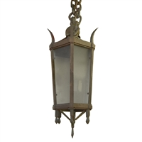 Wrought Iron Light Fixture