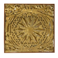 Louis Sullivan Designed Panel from the Garrick Theater by Adler & Sullivan