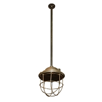 English Cast Iron Light Fixture