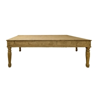 Swiss Extra-Large Pine Table