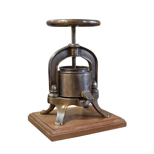 French Iron Food Press