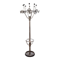 Italian Chrome Coat Rack