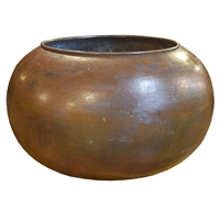 Italian Copper Chocolate Vessel