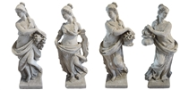Set of Four Season Statues
