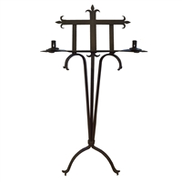 French Wrought Iron Book Stand
