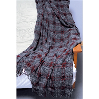 RF323 Holiday Plaid Throw - NEW YEAR'S SALE!