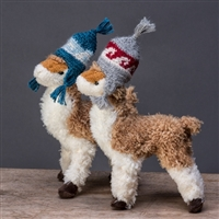 RF350 Rudi Paca with Mini Hat Ornament