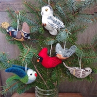 RF523D Woolie Bird Ornament