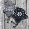 RH357 Homespun Snowflake Hat