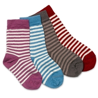 RK433 Kid's Stripe Crew Sock