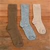RK481 Kid's AlpacaCopper Crew Sock