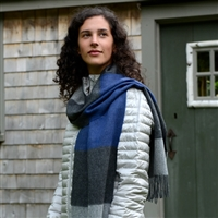 RR412 Brushed Colorblock Scarf