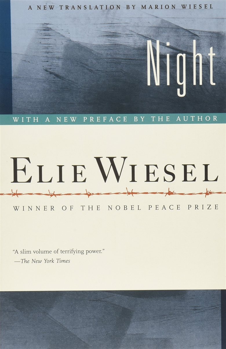 night by elie weisel Night, by elie wiesel, translated by stalla rodway new york: bantam, 1960 story summary: elie wiesel's autobiography is a moving account relating his experiences as a teenager in transylvania.