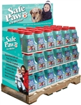 Safe Paw ice melt display pallet