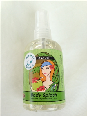 Coconut Body Splash