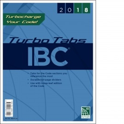 2018 International Building Code Turbo Tabs - Soft Cover