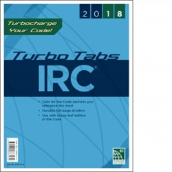 2018 International Residential Code Turbo Tabs - Soft Cover