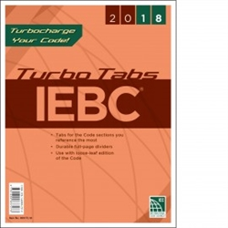 2018 International Existing Building Code Turbo Tabs - Soft Cover