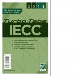 2018 International Energy Conservation Code - Turbo Tabs - Soft Cover