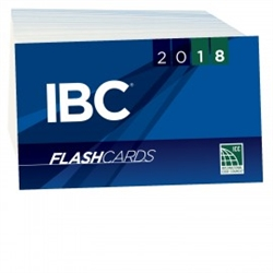 2018 International Building Code Flash Cards