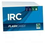 2018 International Residential Code Flash Cards