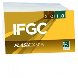 2018 International Fuel Gas Code Flash Cards