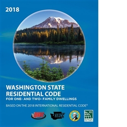 2018 International Residential Code (IRC) with Washington Amendments