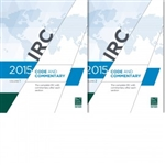 2015 IRC Code and Commentary Combo, Volumes 1 & 2