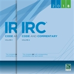 2018 IRC Code and Commentary Combo, Volumes 1 & 2