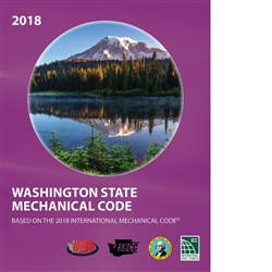 2018 International Mechanical Code (IMC) with Washington Amendments