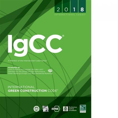 2018 International Green Construction Code Igcc