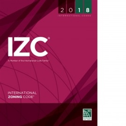 2018 International Zoning Code - Soft Cover