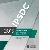2015 International Private Sewage Disposal Code - Soft Cover