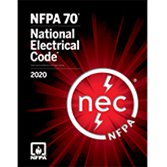 NFPA 70: National Electrical Code (NEC) Softcover, 2020 Edition