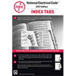NFPA 70: National Electrical Code (NEC) Tabs, 2017 Edition