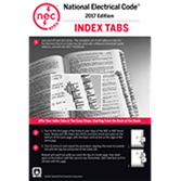 2017 National Electrical Code or Handbook Tabs (NFPA70)