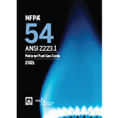 NFPA 54: National Fuel Gas Code, 2021 Edition