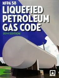 NFPA 58:  Liquefied Petroleum Gas Code, 2014 Edition