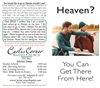 Heaven?  You Can Get There From Here - Custom Tract