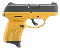 Ruger LC9S TALO 9MM 3269 Yellow NEW