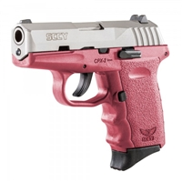 SCCY CPX-2 TTCR Stainless / Crimson 9MM NEW