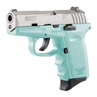 SCCY CPX-2 TTSB Blue / Stainless 9MM NEW