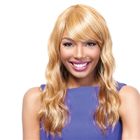 SYNTHETIC WIG SOFT WAVES WITH BANG