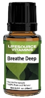 Breathe Deep Blend-   15 ml-  LifeSource Essential Oils